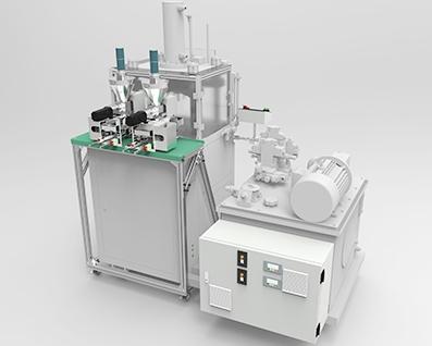 河南与半自动冷压机联机使用